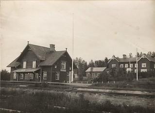Morjärvs järnvägsstation