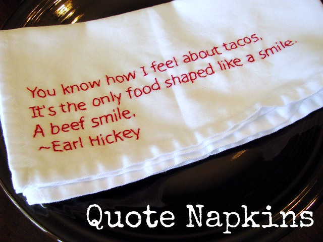Quote Napkins