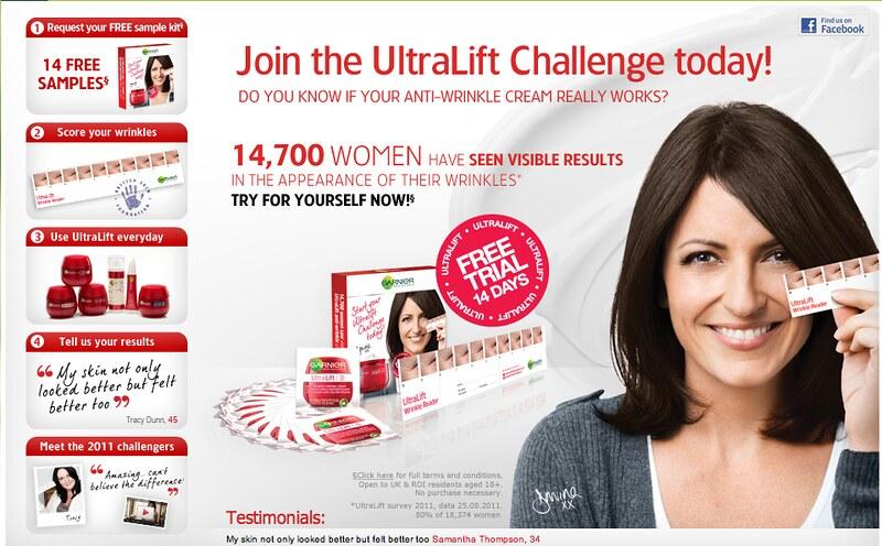 Garnier UltraLift Challenge