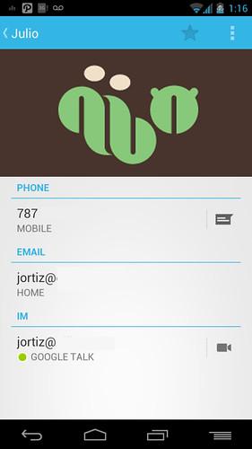 Videollamadas en Android con Google Hangouts