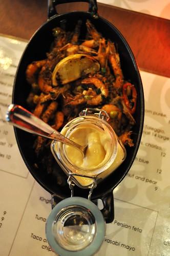 soft shell prawns