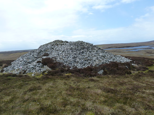 Neollithic Burial Cairn, North Uist