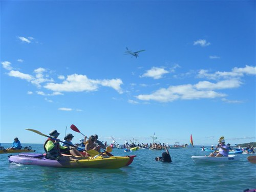 Paddle Out day at Hervey Bay