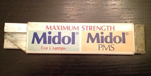 Hersteria PMS Midol shiv