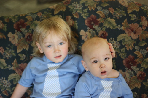 Tie Shirts--Mother's Day  2012