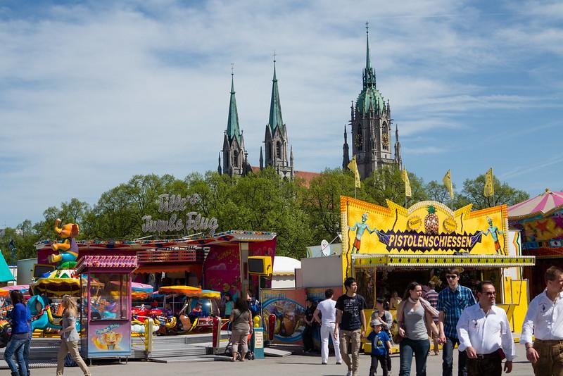 Powershot Fruehlingsfest @München