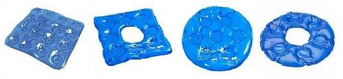 As almofadas ortopédicas são utilizadas na prevenção e coadjuvante no tratamento de úlcera de pressão, escaras