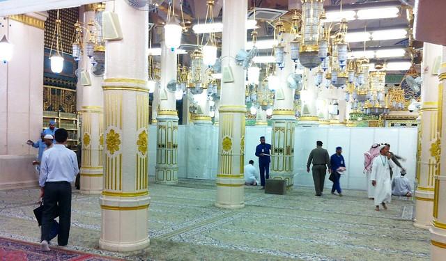 Raudhah at Masjid Nabawi