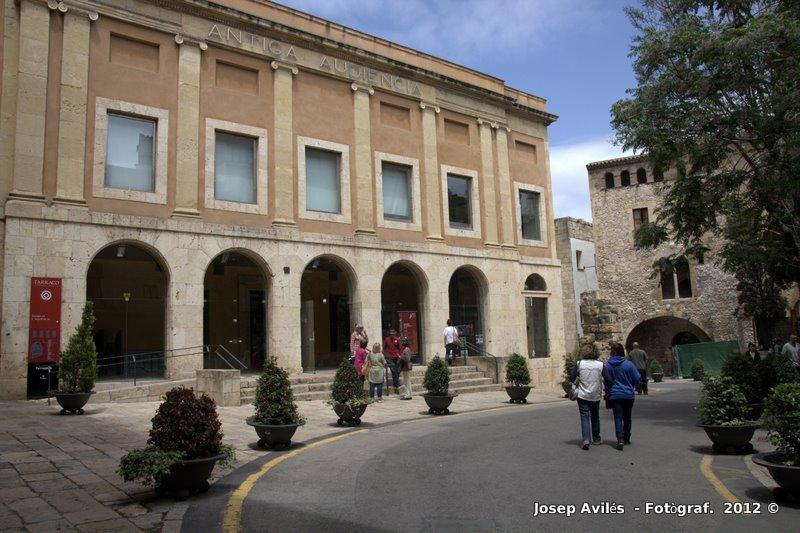 Imatge de l'Antiga Audiència a Tarragona. Catalunya