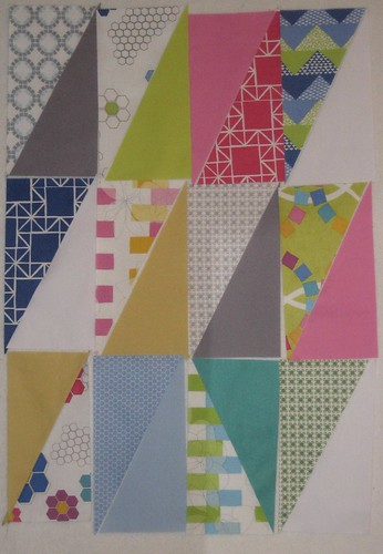 quilt blocks triangles