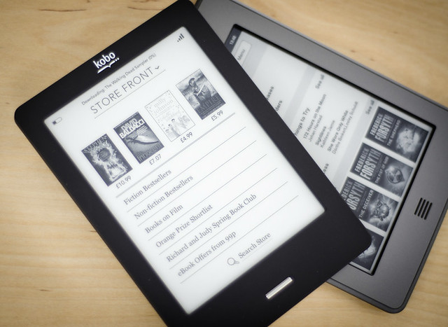 Kobo v Kindle