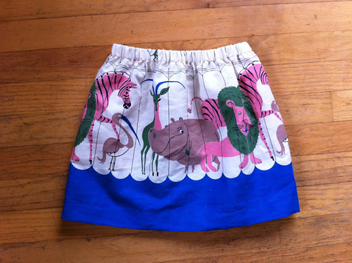 the birthday skirt