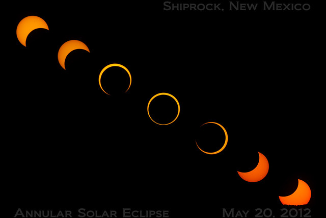 Annular Solar Eclipse - May 20, 2012