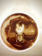 Today's latte, HTML5 Rocks!