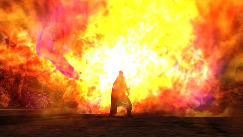 Cragriel In Flames!