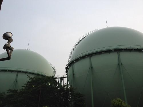 谷原ガスタンク