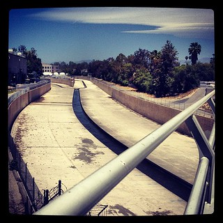 LA River - from the Colfax Bridge