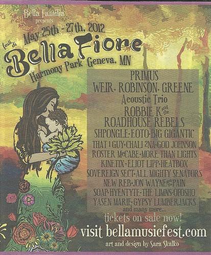 05/25 - 27/12 Bella Fiore Fest @ Harmony Park, Geneva, MN