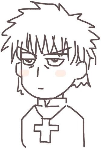 120526(2) - 聲優「恒松あゆみ」心血來潮畫出《Fate/Zero》所有角色的塗鴉、只有「久宇舞弥」發揮100%實力(笑) (6/18)