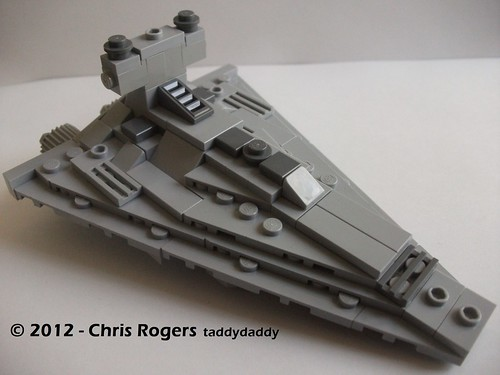 Mini Lego Star Destroyer 1