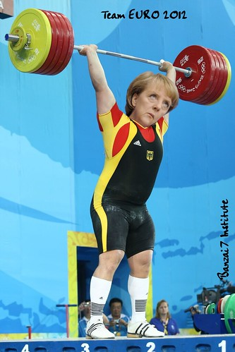 TEAM EURO 2012 (MERKEL) by Colonel Flick