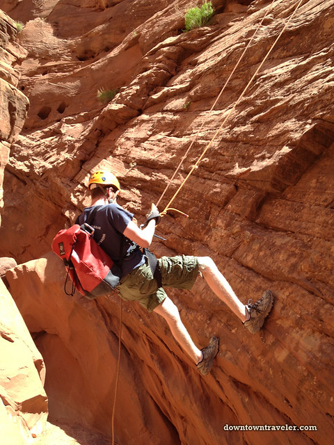Canyonnering at Escalante National Monument 16