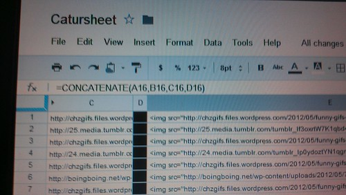 Finally put the skills I learned at work to use for cat blogging by christopher575