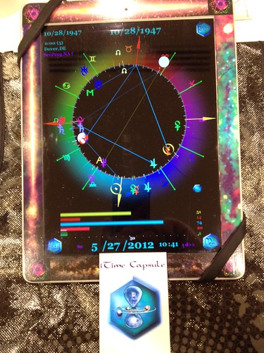 iPad Astrology Software iTime Capsule by Postcards from UAC