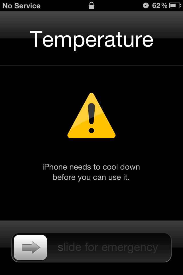 What happens when you leave an iPhone in a hot car and other
