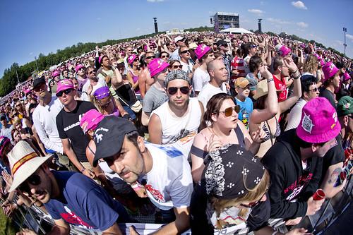 Pinkpop 2012 mashup foto -