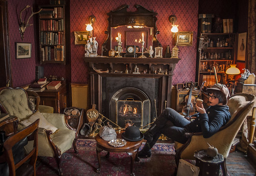 221B Baker Street.  Come at once if convenient.
