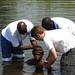 Jonathan Baptizing in Ghana