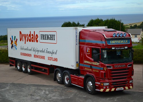 Drysdale Freight Scania R620 Tower Farm