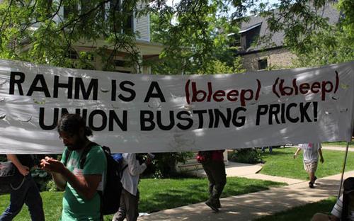 rahm union buster