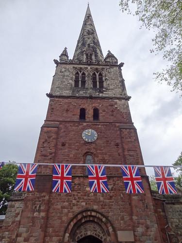 St. Mary's Shrewsbury, Jubilee bunting