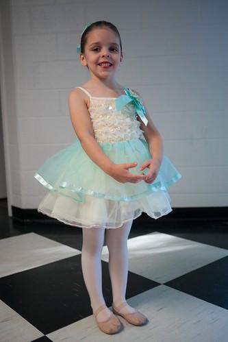 A pretty ballerina