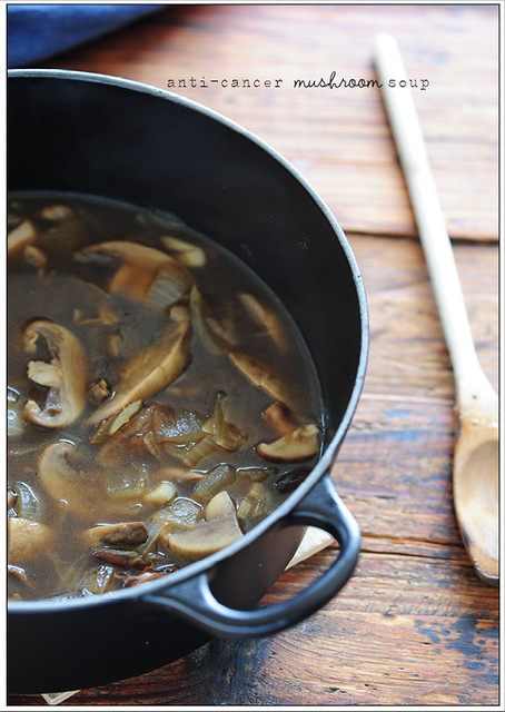 Can Healthy Eating Influence Cancer?+ Simple Mushroom Soup | Stonesoup