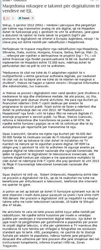 Maqedonia nikoqire e takimit për digjitalizim të vendeve në EJL