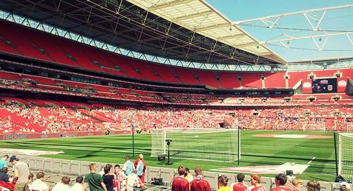 Wembley Stadium: League Two play-off final 2011-12 - Cheltenham vs Crewe