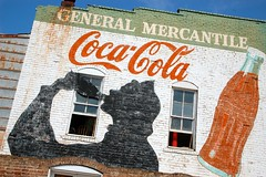 General Mercantile's Coca-Cola Wall Mural Ad