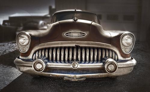 classic car buick chrome saskatchewan decayed