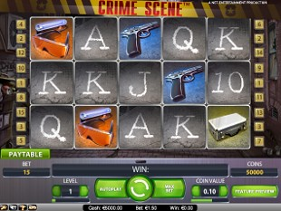 Crime Scene slot game online review