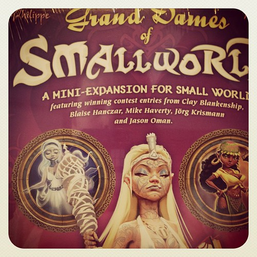 Getting some more ladies for #smallworld. It's really male top heavy to start. Can't have that.