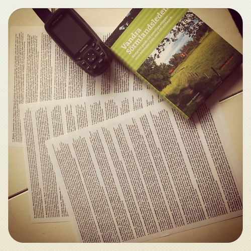 Förberedelser: kartor & navigering by kiljano