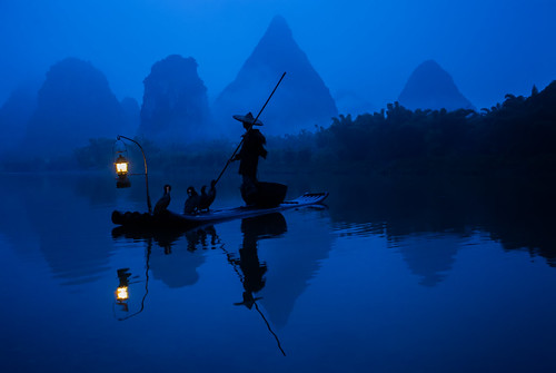 Fisherman on the Li River