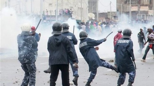 Togo riot police clash with demonstrators over reforms involving electoral politics. The country has a history of unrest related to political control. by Pan-African News Wire File Photos
