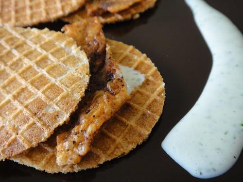 Chicken and Spelt Stroopwafels