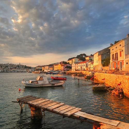rinogas croazia croatia malilosinj lussino sunrise clouds hdr