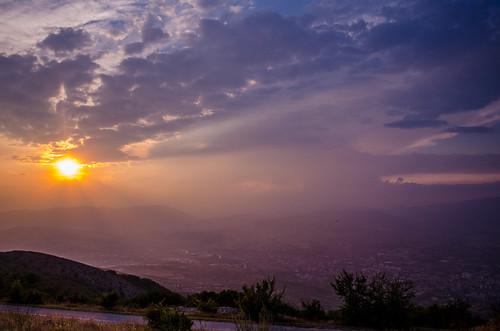 sunset sky clouds landscape nikon colours macedonia cloudporn skopje skyporn d5100