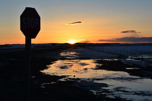sunset canada march spring stop alberta yayoi 2014 三月 3月 カナダ 弥生 sangatsu アルバータ州 さんがつ newlifemonth 平成26年